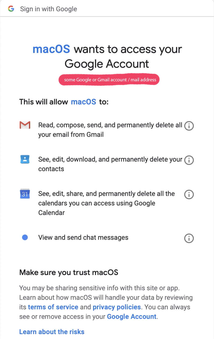 Fixed Login Failed Error New Mojave Mail App Can T Access Gmail Hosted Account Macmanus Nl